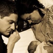 mum & dad & baby